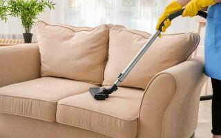 Как самому почистить диван без разводов — эффективные экспресс-способы