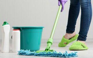 Как часто и чем правильно мыть полы: средства и инвентарь — какие лучше
