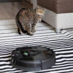 робот пылесос против кошачьей шерсти
